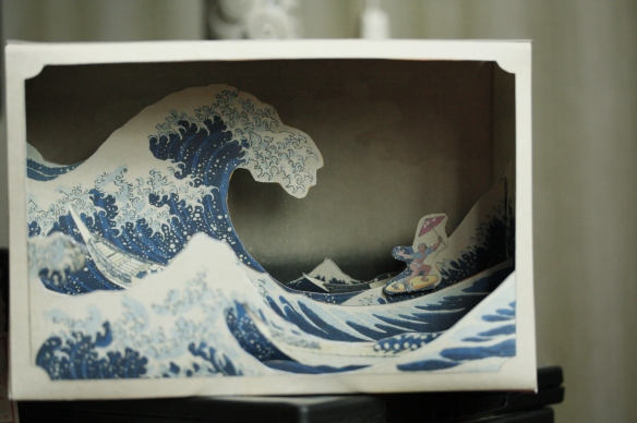 The Great Wave Tatebanko
